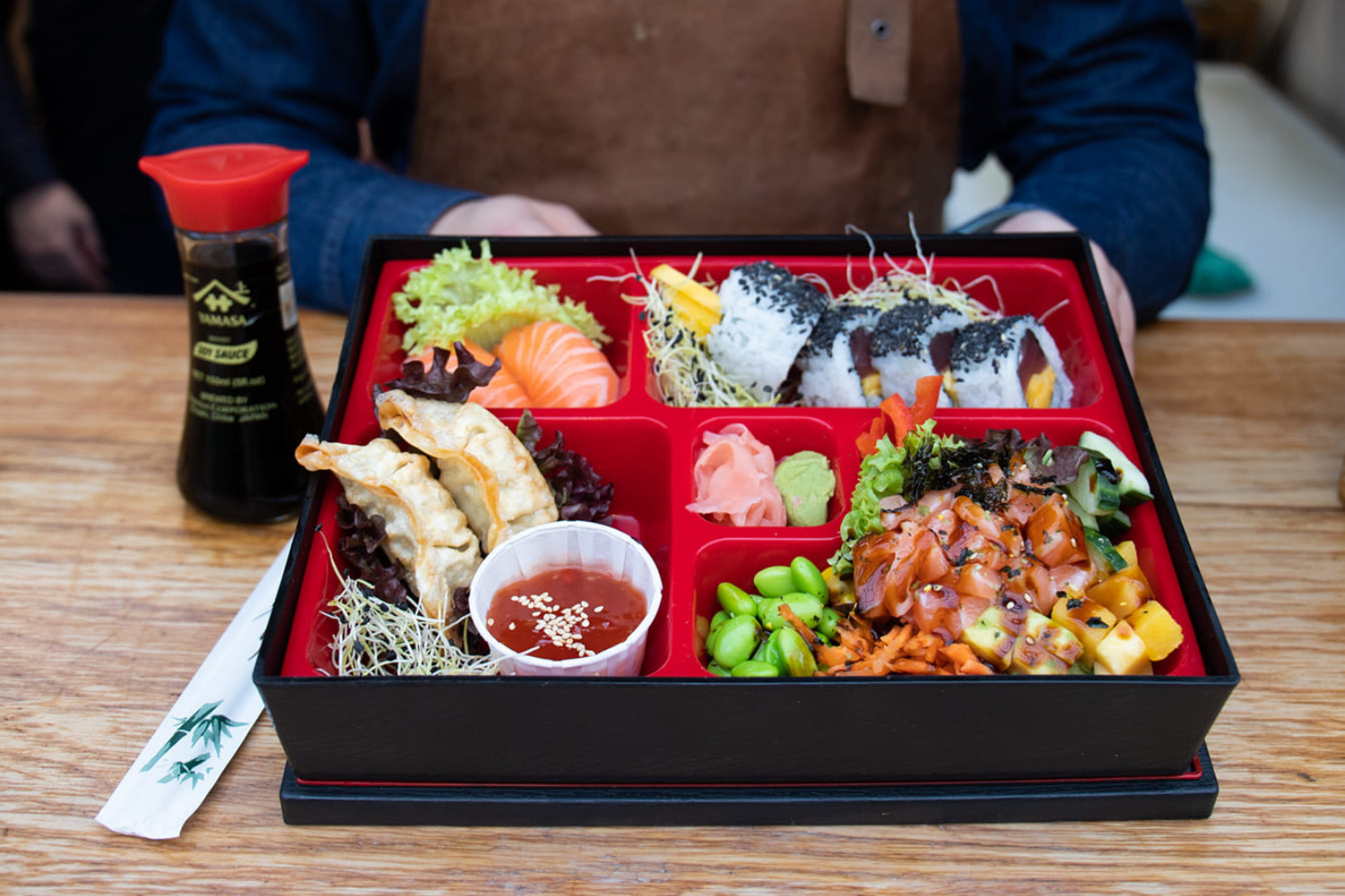 bento box japanse lunch arnhem